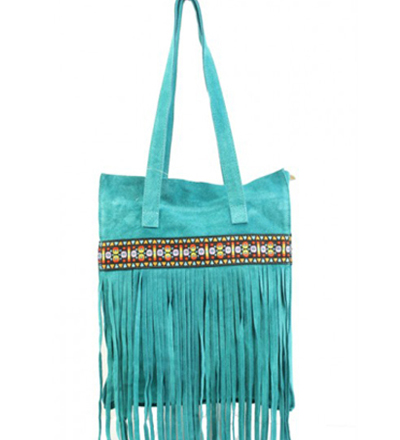 My Big Ibiza Shopper - Turquoise